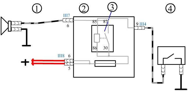 Ваз 2109 инжектор схема стоп сигналов